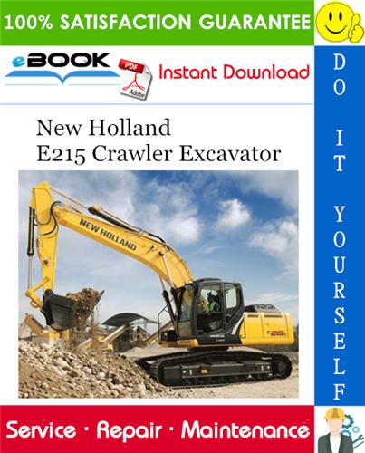 Thumbnail ☆☆ Best ☆☆ New Holland E215 Crawler Excavator Service Repair Manual