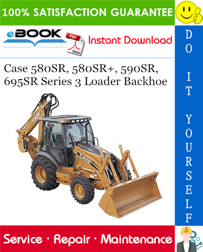 Thumbnail ☆☆ Best ☆☆ Case 580SR 580SR+ 590SR 695SR Series 3 Loader Backhoe Service Repair Manual