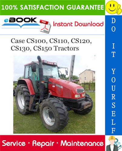 Thumbnail ☆☆ Best ☆☆ Case CS100, CS110, CS120, CS130, CS150 Tractors Service Repair Manual