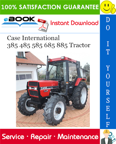 Thumbnail ☆☆ Best ☆☆ Case International 385 485 585 685 885 Tractor Service Repair Manual