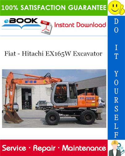 Thumbnail ☆☆ Best ☆☆ Fiat - Hitachi EX165W Excavator Service Repair Manual
