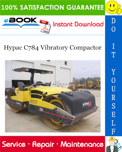 Thumbnail ☆☆ Best ☆☆ Hypac C784 Vibratory Compactor Service Repair Manual + Operation & Maintenance Manual + Parts Manual