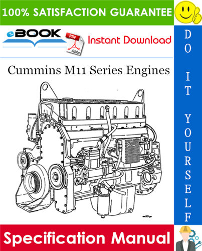 Thumbnail ☆☆ Best ☆☆ Cummins M11 Series Engines Specification Manual