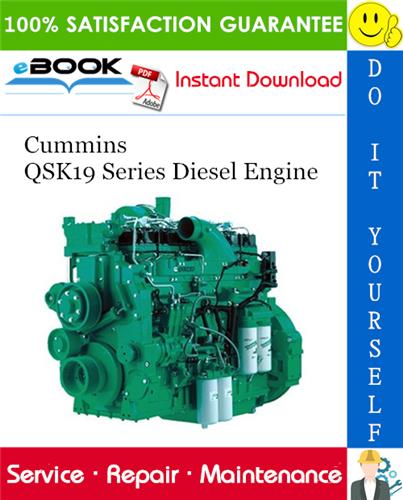 Thumbnail ☆☆ Best ☆☆ Cummins QSK19 Series Diesel Engine Service Repair Manual
