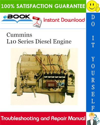 Thumbnail ☆☆ Best ☆☆ Cummins L10 Series Diesel Engine Troubleshooting and Repair Manual