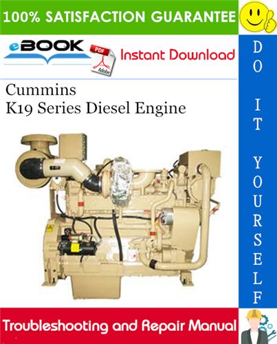 Thumbnail ☆☆ Best ☆☆ Cummins K19 Series Diesel Engine Troubleshooting and Repair Manual