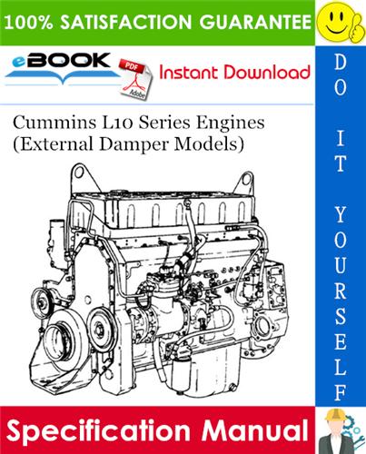 Thumbnail ☆☆ Best ☆☆ Cummins L10 Series Engines (External Damper Models) Specification Manual