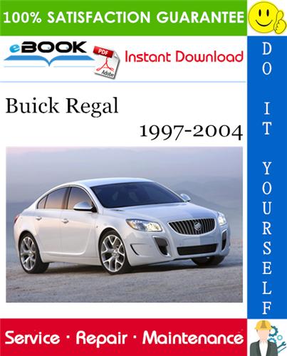 Thumbnail ☆☆ Best ☆☆ Buick Regal Service Repair Manual 1997-2004 Download
