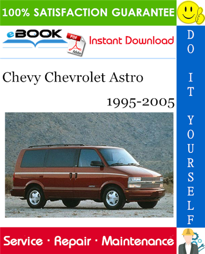 Thumbnail ☆☆ Best ☆☆ Chevy Chevrolet Astro Service Repair Manual 1995-2005 Download