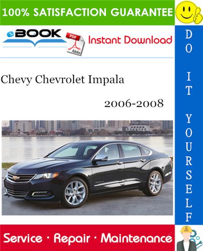 Thumbnail ☆☆ Best ☆☆ Chevy Chevrolet Impala Service Repair Manual 2006-2008 Download