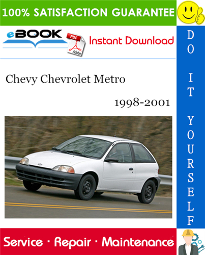 Thumbnail ☆☆ Best ☆☆ Chevy Chevrolet Metro Service Repair Manual 1998-2001 Download