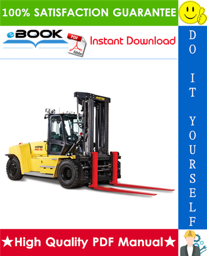 Thumbnail ☆☆ Best ☆☆ Hyster H360-36HD, H360-48HD (B238) High-Capacity Forklift Trucks Parts Manual