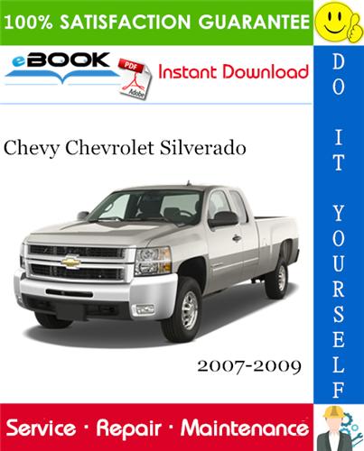 Thumbnail ☆☆ Best ☆☆ Chevy Chevrolet Silverado Service Repair Manual 2007-2009 Download