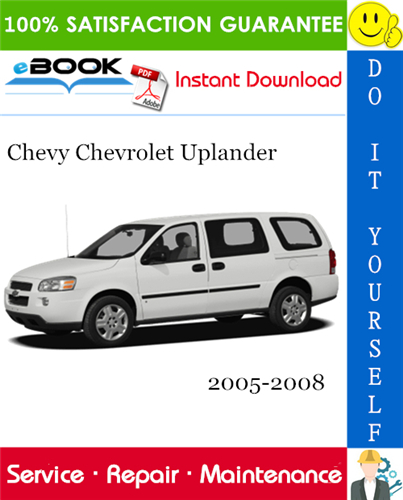 Thumbnail ☆☆ Best ☆☆ Chevy Chevrolet Uplander Service Repair Manual 2005-2008 Download