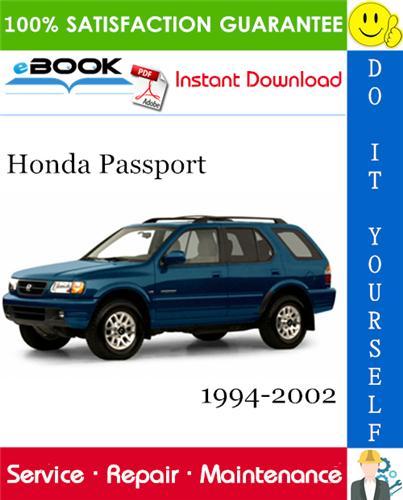 Thumbnail ☆☆ Best ☆☆ Honda Passport Service Repair Manual 1994-2002 Download