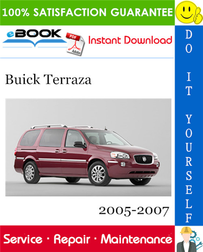 Thumbnail ☆☆ Best ☆☆ Buick Terraza Service Repair Manual 2005-2007 Download