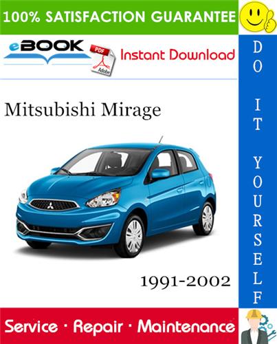 Thumbnail ☆☆ Best ☆☆ Mitsubishi Mirage Service Repair Manual 1991-2002 Download
