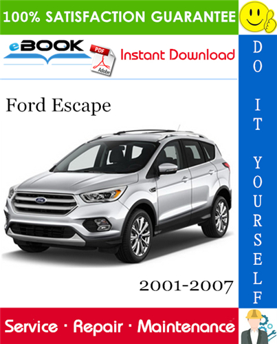 Thumbnail ☆☆ Best ☆☆ Ford Escape Service Repair Manual 2001-2007 Download