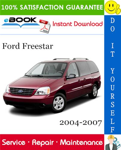 Thumbnail ☆☆ Best ☆☆ Ford Freestar Service Repair Manual 2004-2007 Download