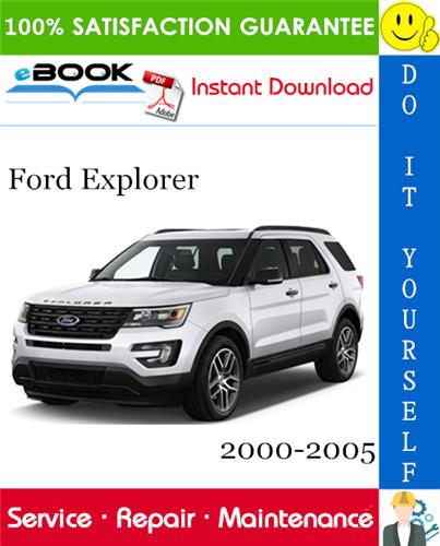 Thumbnail ☆☆ Best ☆☆ Ford Explorer Service Repair Manual 2000-2005 Download