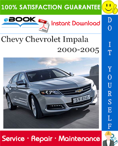Thumbnail ☆☆ Best ☆☆ Chevy Chevrolet Impala Service Repair Manual 2000-2005 Download