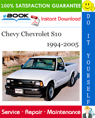 Thumbnail ☆☆ Best ☆☆ Chevy Chevrolet S10 Service Repair Manual 1994-2005 Download