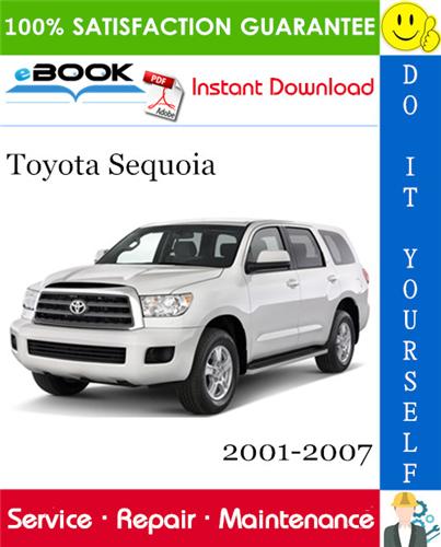 Thumbnail ☆☆ Best ☆☆ Toyota Sequoia Service Repair Manual 2001-2007 Download
