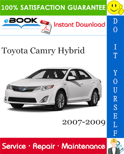Thumbnail ☆☆ Best ☆☆ Toyota Camry Hybrid Service Repair Manual 2007-2009 Download