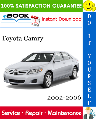 Thumbnail ☆☆ Best ☆☆ Toyota Camry Service Repair Manual 2002-2006 Download