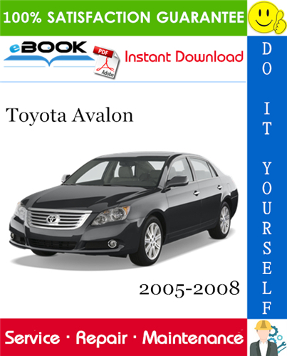 Thumbnail ☆☆ Best ☆☆ Toyota Avalon Service Repair Manual 2005-2008 Download