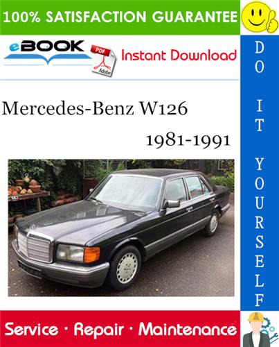 Thumbnail ☆☆ Best ☆☆ Mercedes-Benz W126 Service Repair Manual 1981-1991 Download