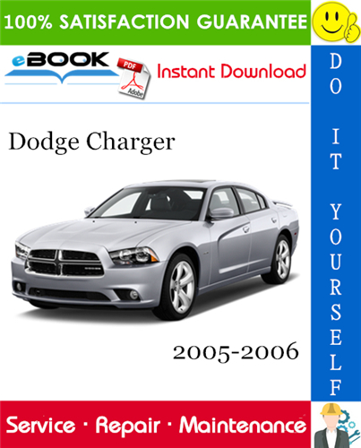 Thumbnail ☆☆ Best ☆☆ Dodge Charger Service Repair Manual 2005-2006 Download