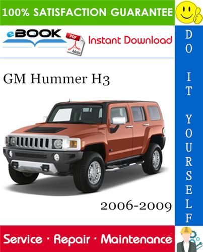 Thumbnail ☆☆ Best ☆☆ GM Hummer H3 Service Repair Manual 2006-2009 Download