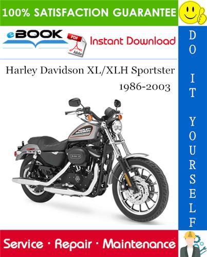 Thumbnail ☆☆ Best ☆☆ Harley Davidson XL/XLH Sportster Motorcycle Service Repair Manual 1986-2003 Download