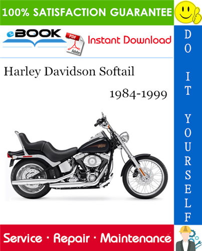 Thumbnail ☆☆ Best ☆☆ Harley Davidson Softail Motorcycle Service Repair Manual 1984-1999 Download