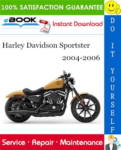Thumbnail ☆☆ Best ☆☆ Harley Davidson Sportster Motorcycle Service Repair Manual 2004-2006 Download