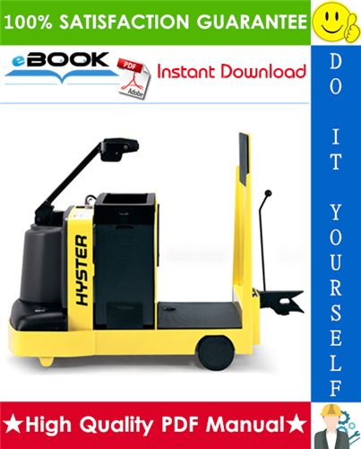 Thumbnail ☆☆ Best ☆☆ Hyster T7ZAC (B477) Electric Tow Tractor Parts Manual