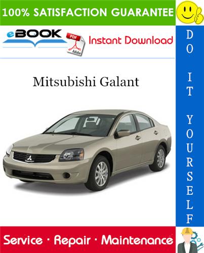 Thumbnail ☆☆ Best ☆☆ 2007 Mitsubishi Galant Service Repair Manual