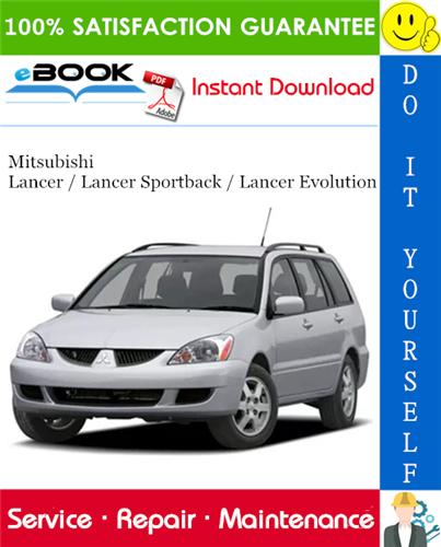 Thumbnail ☆☆ Best ☆☆ 2004 Mitsubishi Lancer / Lancer Sportback / Lancer Evolution Service Repair Manual