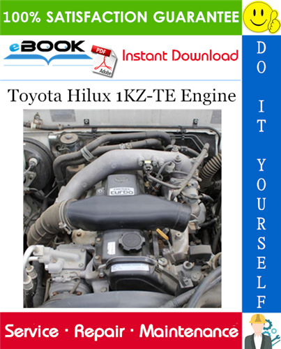 Thumbnail ☆☆ Best ☆☆ Toyota Hilux 1KZ-TE Engine Service Repair Manual