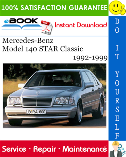 Thumbnail ☆☆ Best ☆☆ Mercedes-Benz Model 140 STAR Classic Service Repair Manual 1992-1999 Download