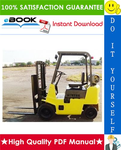 Thumbnail ☆☆ Best ☆☆ Hyster Challenger H25XL (H1.25XL), H30XL (H1.50XL), H35XL (H1.75XL) [C001] Forklift Trucks Parts Manual