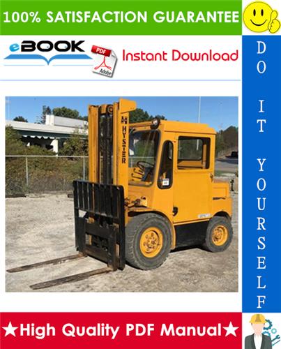 Thumbnail ☆☆ Best ☆☆ Hyster Challenger H60C, H70C, H80C, H90C (C005) Forklift Trucks Parts Manual