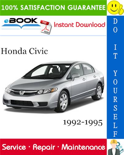 Thumbnail ☆☆ Best ☆☆ Honda Civic Service Repair Manual 1992-1995 Download