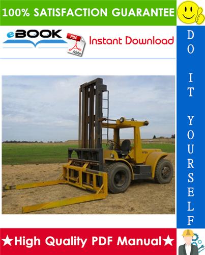 Thumbnail ☆☆ Best ☆☆ Hyster Challenger H150H, H165H, H180H, H200H, H200HS, H225H, H250H, H275H, P150B, P200B (C007) Forklift Trucks Parts Manual