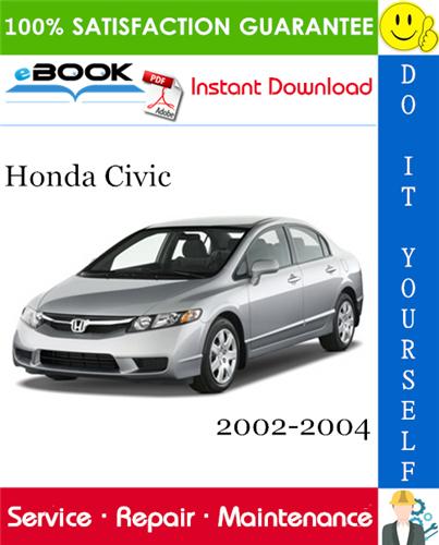 Thumbnail ☆☆ Best ☆☆ Honda Civic Service Repair Manual 2002-2004 Download