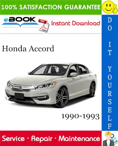 Thumbnail ☆☆ Best ☆☆ Honda Accord Service Repair Manual 1990-1993 Download