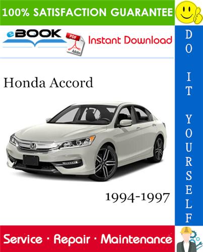 Thumbnail ☆☆ Best ☆☆ Honda Accord Service Repair Manual 1994-1997 Download
