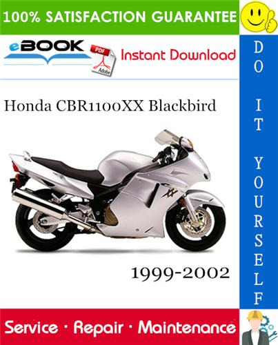 Thumbnail ☆☆ Best ☆☆ Honda CBR1100XX Blackbird Motorcycle Service Repair Manual 1999-2002 Download