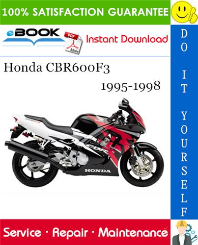 Thumbnail ☆☆ Best ☆☆ Honda CBR600F3 Motorcycle Service Repair Manual 1995-1998 Download